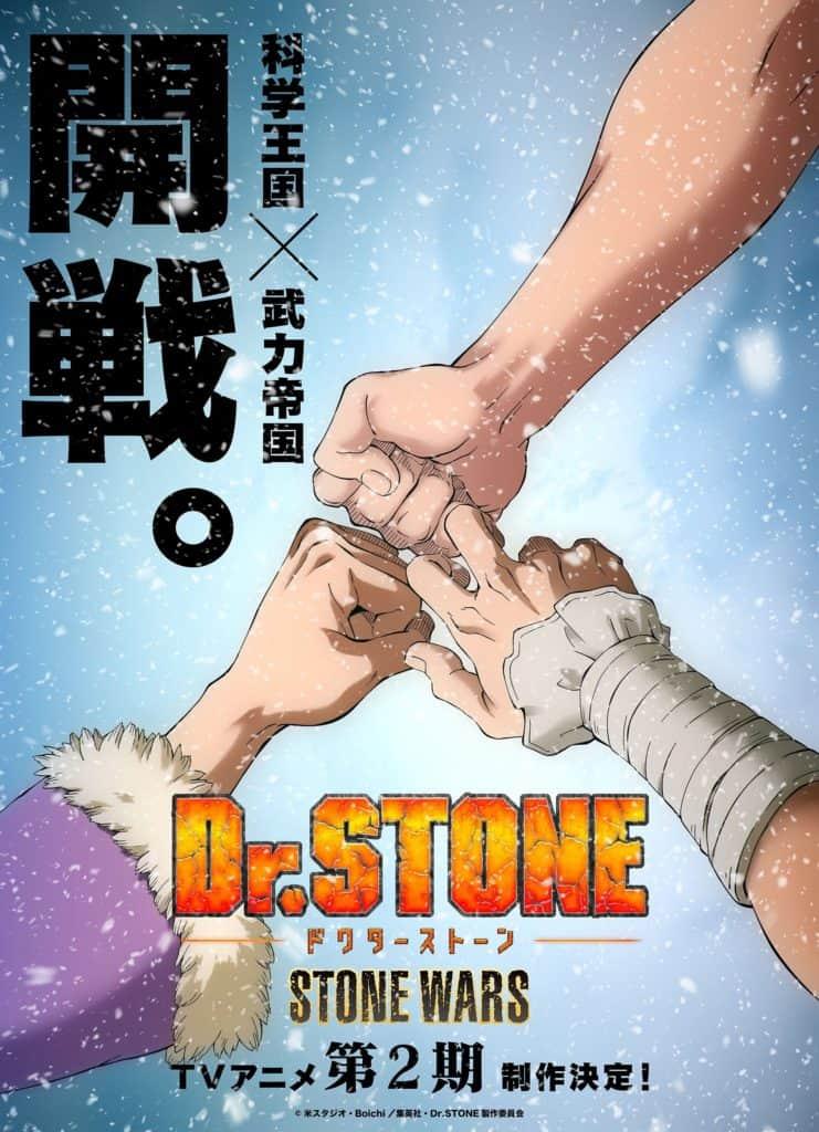 Dr Stone segunda temporada poster