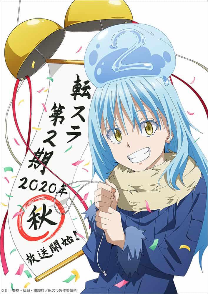Imagen promocional de Tensei Shitara Slime Datta Ken temporada 2